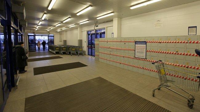 Впетербургских магазинах демонтируют камеры хранения