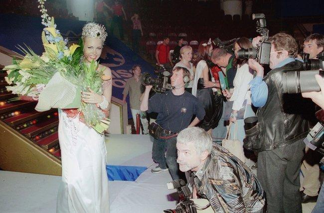 Анна Татаринцева, победительница «Красы России-2002», 26июля 2002 года