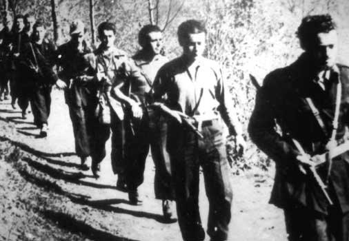 Партизаны Сопротивления. Италия, 1944–1945годы