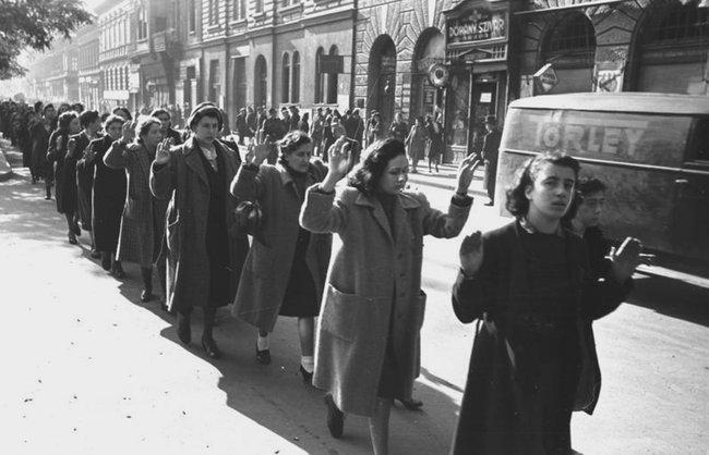 Аресты евреев вБудапеште, 1944 год