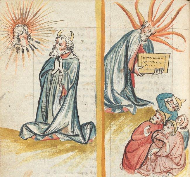 Рудольф Эмсский. Всемирная хроника. Германия, 1402г.