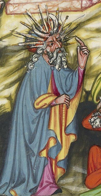 Рудольф Эмсский. Всемирная хроника. Регенсбург (Германия), ок. 1400–1410гг.