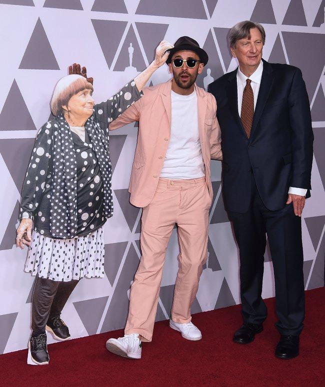 Французский кинорежиссер заменила себя картонкой нацеремонии «Оскара»