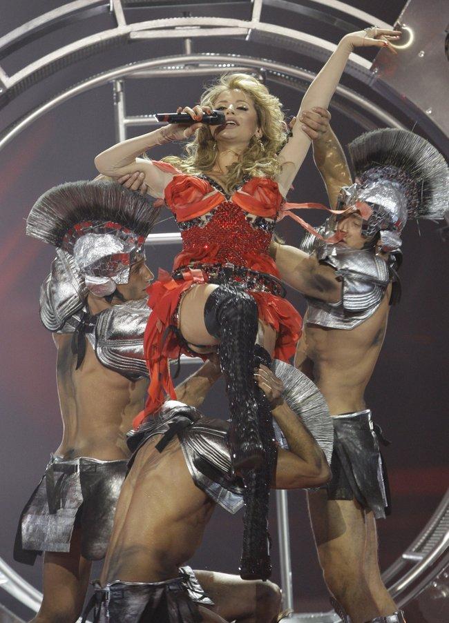 Лобода на«Евровидении-2009»