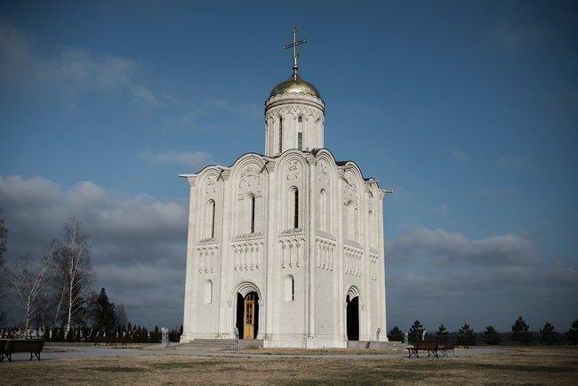 Храм вхуторе Октябрьском