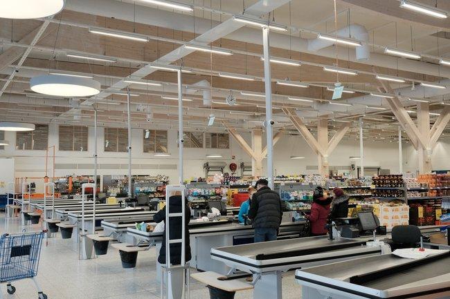 Открытый супермаркет вИматре