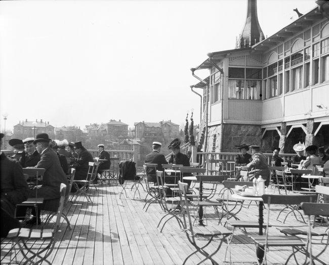Ресторан вХельсинки, 1906 год