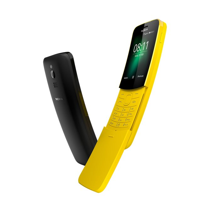 Телефон-банан нокиа 8110 из«Матрицы» возвращается нарынок