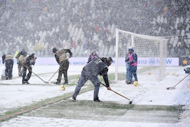 Стадион вТурине, где должен был пройти матч «Ювентус»— «Аталанта». Матч перенесен