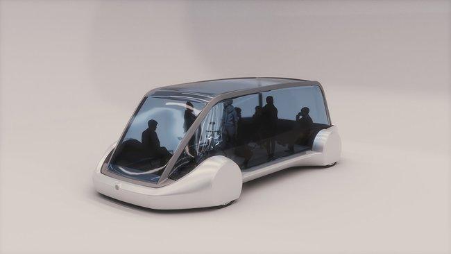 Илон Маск показал электробус для подземных тоннелей