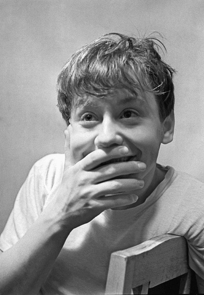 Табаков вроли Олега впьесе Виктора Розова «Впоисках радости». «Современник», 12января 1960 года