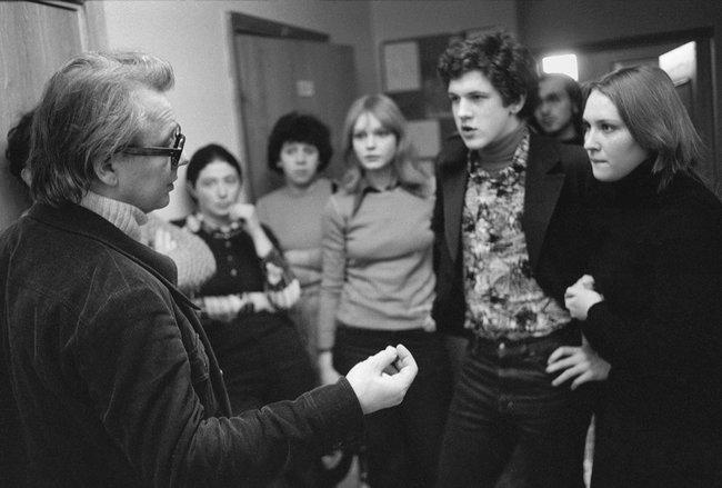 Табаков состудентами, 1979 год