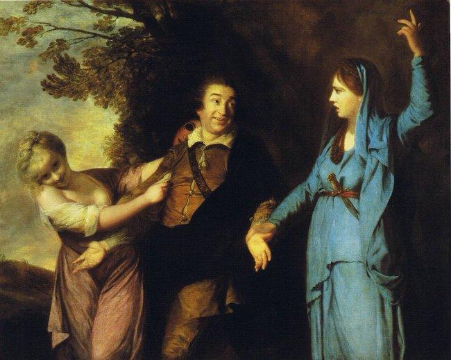 Умема «distracted boyfriend» нашелся предшественник. Это картина XVIII века