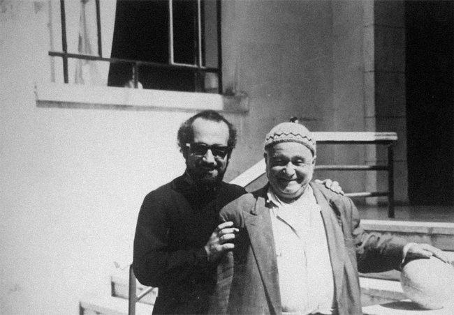 Арутюн Пздикян (слева) иОванес Нароян (справа) вАлеппо. 1975 год