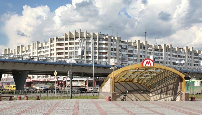 Подземный переход устанции метро «Библиотека имени Пушкина»