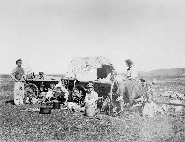 Немецкие колонисты вСаратовской губернии, конец XIX века