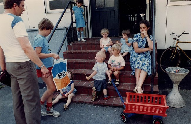 Советские переселенцы воФридланде, сентябрь 1988 года