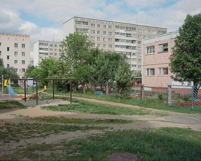 11-й микрорайон, спроектированный Петряшиным, июнь 2018 года