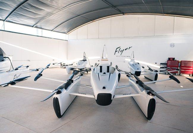 Стартап сооснователя Google Ларри Пейджа продемонстрировал новейшую версию «летающего автомобиля»
