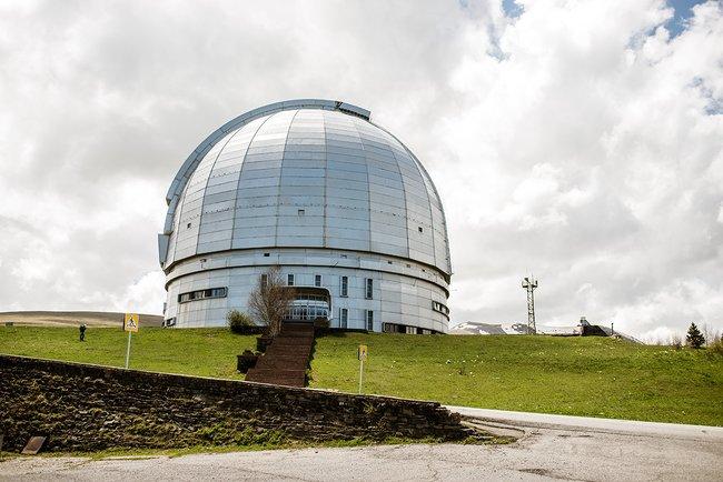 Вид наБольшой азимутальный телескоп