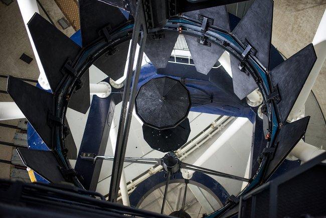 Так выглядит шестиметровое зеркало телескопа