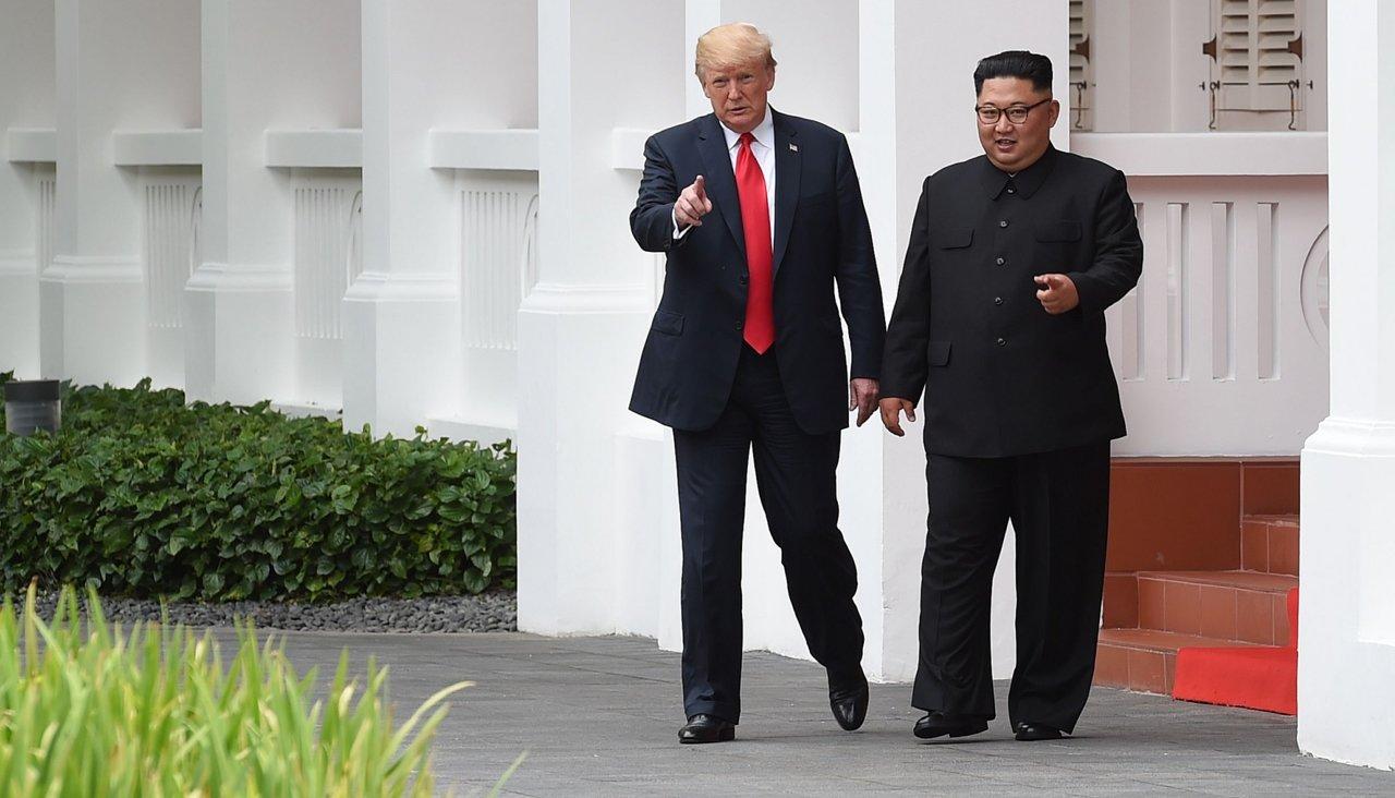 Трамп заявил об отличных отношениях с лидером КНДР после переговоров
