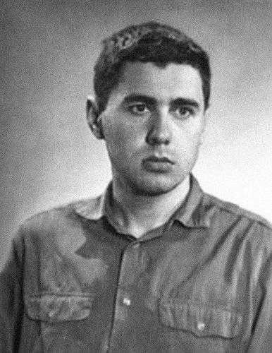 Глеб Павловский вначале 1970-х вОдессе