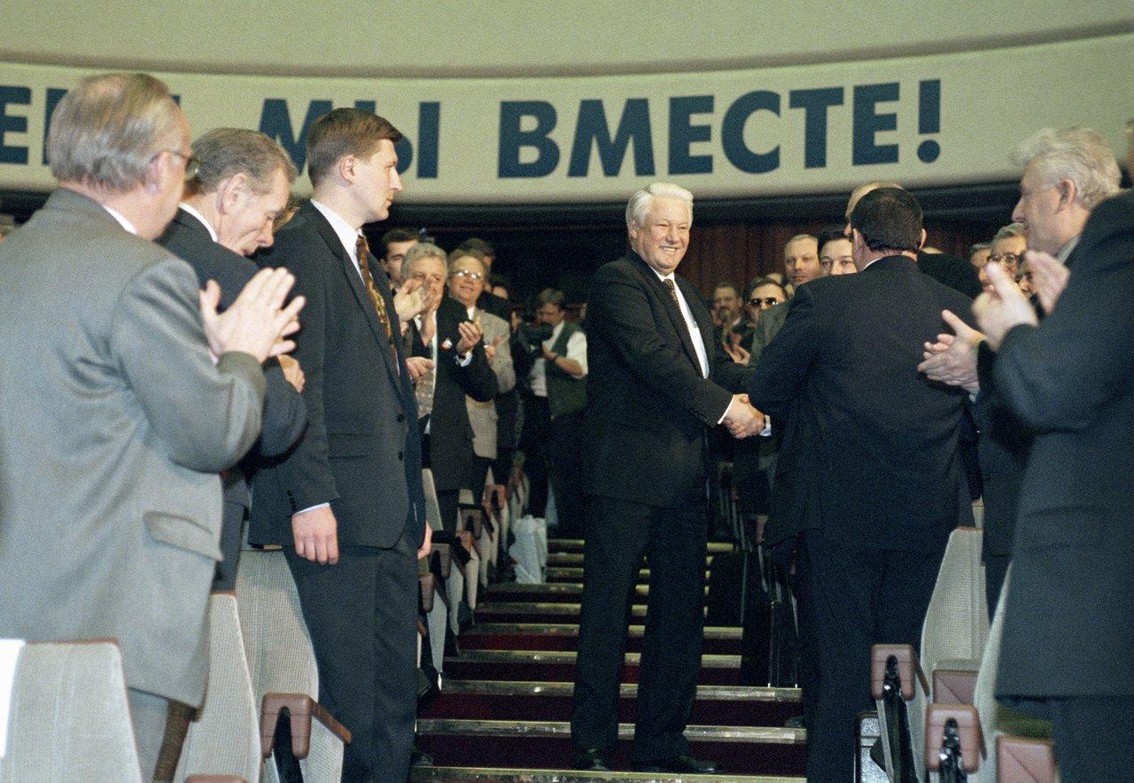 Как Ельцина-Иуду подменили Путиным-Штирлицем - политтехнология-2000.