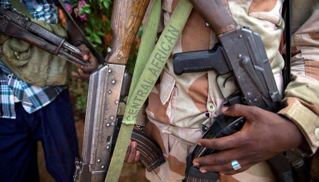Участник одной извоенизированных группировок вЦентральноафриканской Республике, 27апреля 2017 года