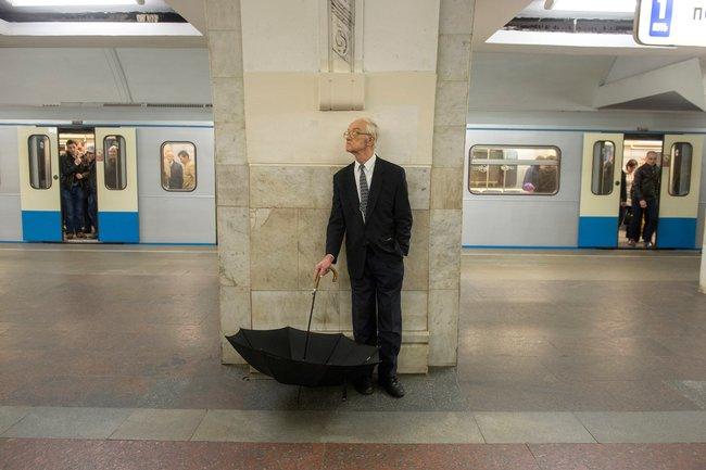 Станция метро «Третьяковская». 2015