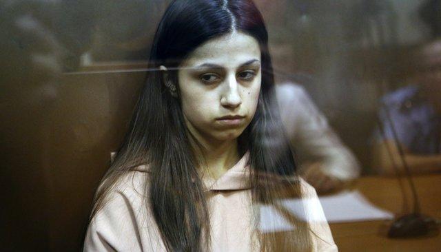 Ангелина Хачатурян всуде, 30июля 2018 года