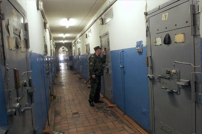 Участок для осужденных напожизненное заключение вколонии особого режима №1 впоселке Сосновка вМордовии, 1июля 2008 года