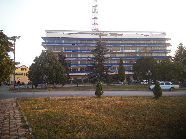 Гостиница «Алан», где формально находится офис «Внешторгсервиса», июль 2018 года