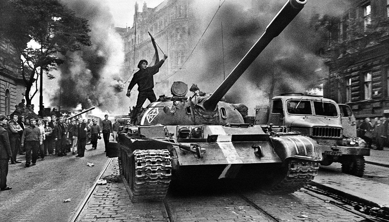 Вторжение СССР в Чехословакию в фотографиях Йозефа Куделки