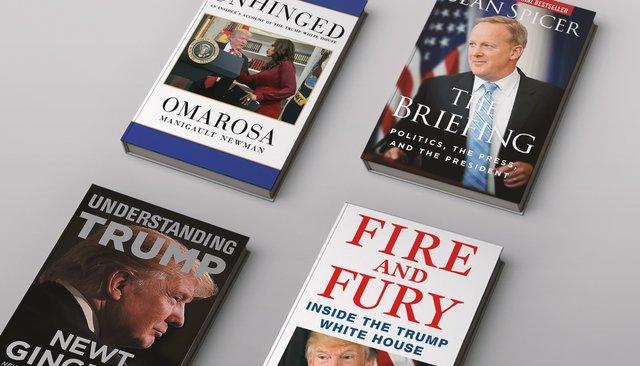 ВСША постоянно выходят скандальные книги оТрампе. Втом числе написанные его бывшими подчиненными. Что мыизних узнали