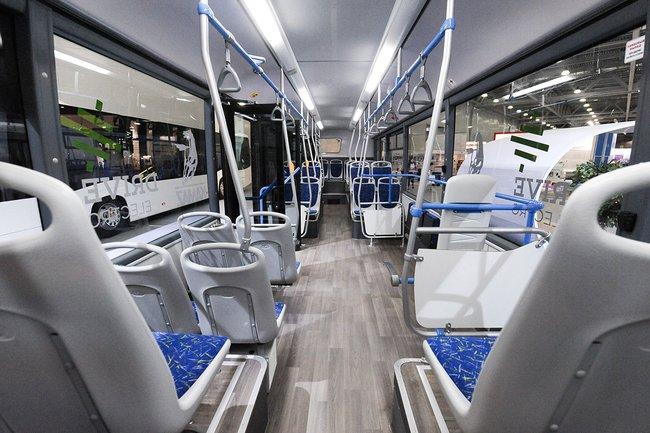 Интерьер электробуса КамАЗ