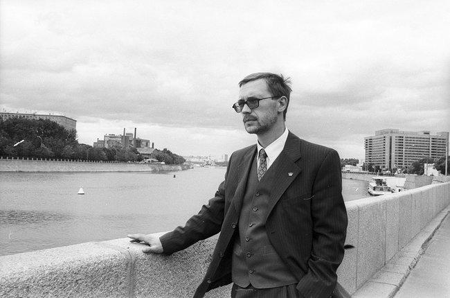 Герман Стерлигов вМоскве, 1997 год
