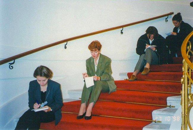 Вена, 1998 год. Кремлевский пул.