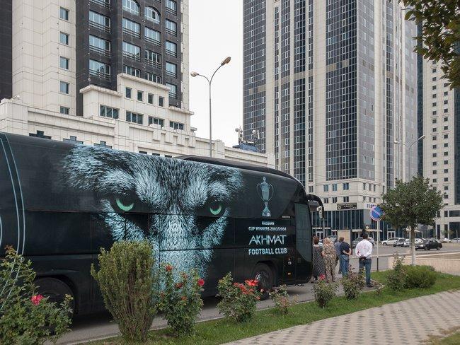 Туристический автобус угостиницы «Грозный-сити»