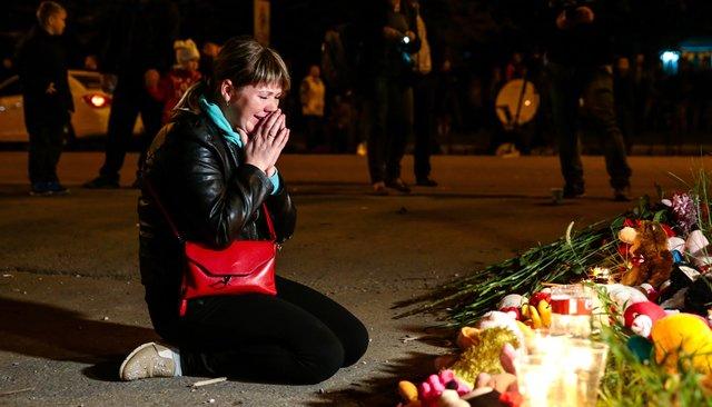 Мемориал наместе массового убийства вКерчи. Фотография