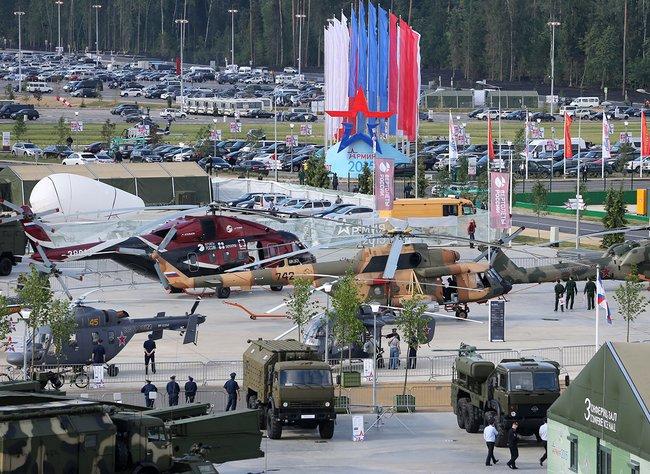 Открытие форума  Армия-2015  в парке  Патриот . Кубинка, 16 июня 2015 года