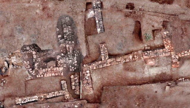 Руины древнегреческого города Тенея