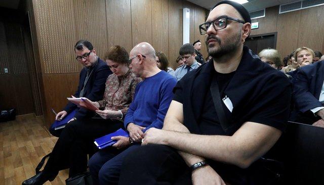 Кирилл Серебренников назаседании суда, 7ноября 2018 года