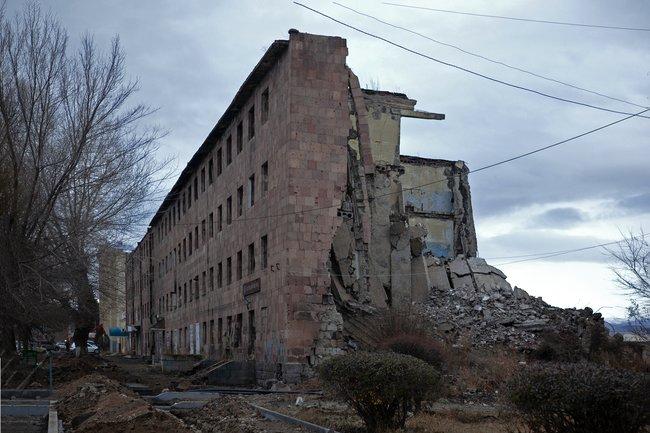Здание бывшего общежития