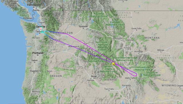 Пассажирский авиарейс изСиэтла вДаллас развернули наполпути. Наборту забыли донорское сердце