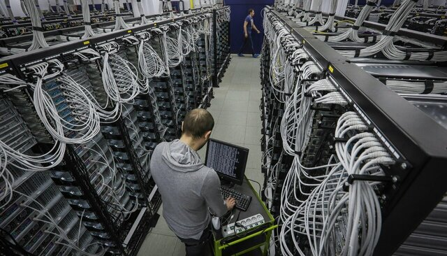 Data center owned by Mail.Ru Group