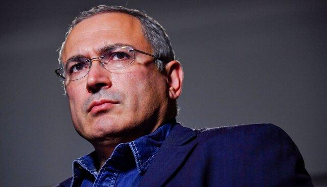 Михаил Ходорковский вЛондоне, 13августа 2018 года