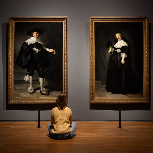 Портреты Мартина Солманса иОпьен Коппит, 1634 год