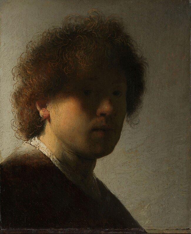 Автопортрет, 1628 год