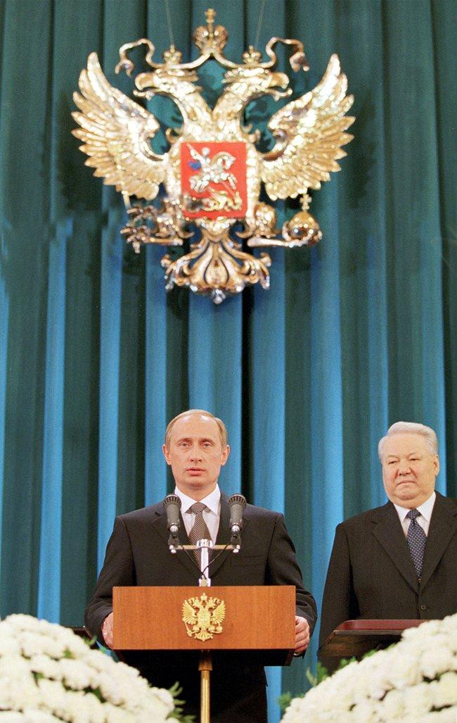 Первая инаугурация Владимира Путина. 7мая 2000 года
